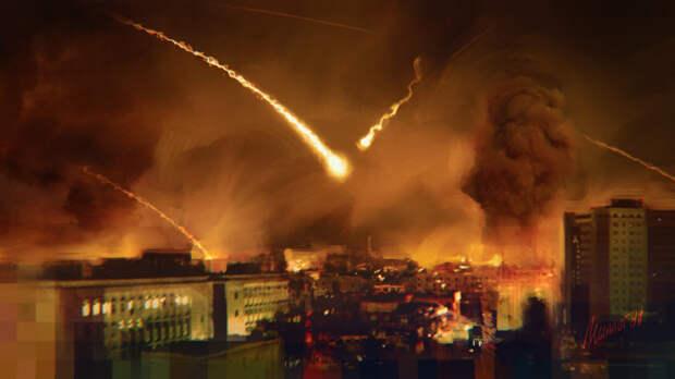 Израиль подвергся ракетной атаке со стороны палестинских радикалов из сектора Газа