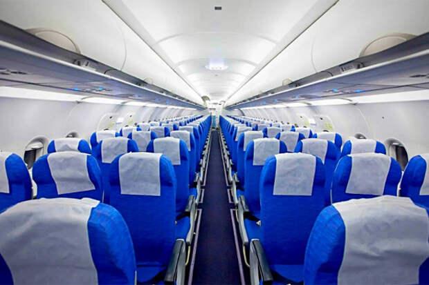 Airbus салон воздух