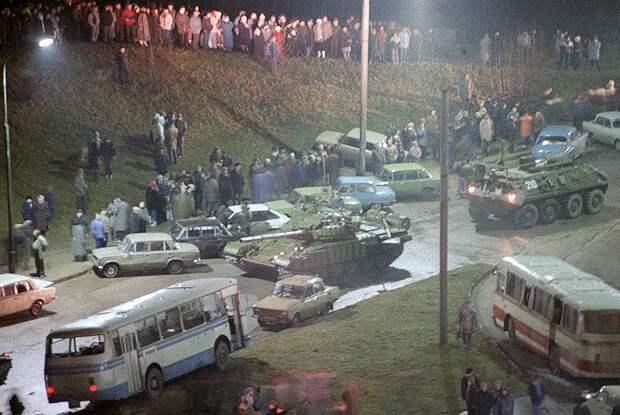 Уличные столкновения 13 января 1991 года