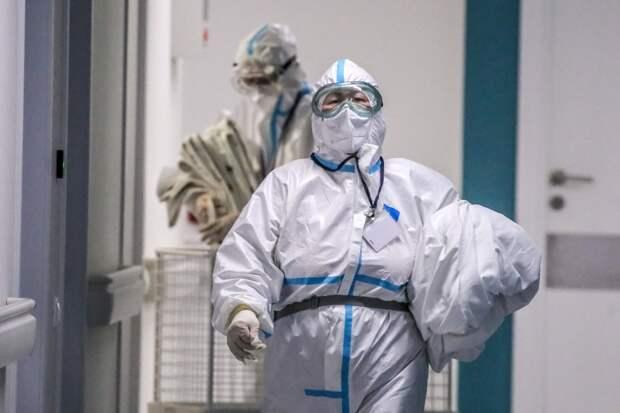 В России за сутки выявлено 8 840 случаев коронавируса