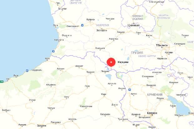 Армяне Грузии перекрыли грузино-турецкую границу