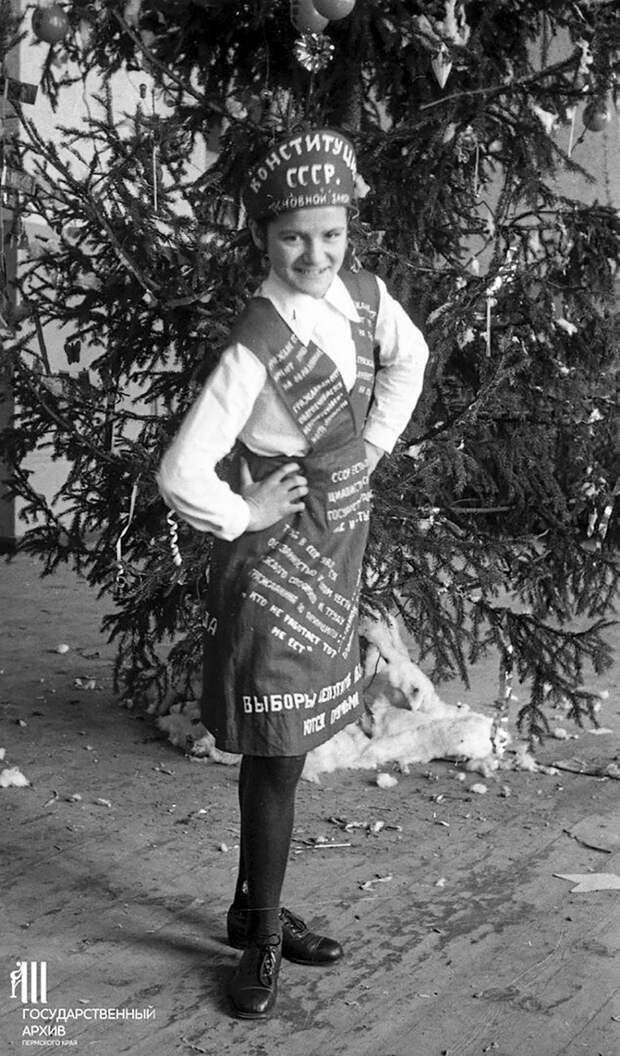 Креативные новогодние костюм времён СССР (ФОТО)