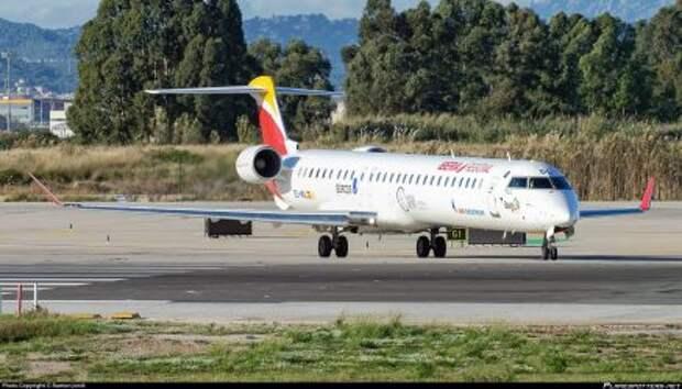 Bombardier CRJ1000 авиакомпании Air Nostrum