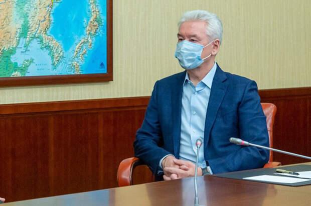 Собянин заявил о высоких темпах роста заболеваемости COVID-19 в Москве