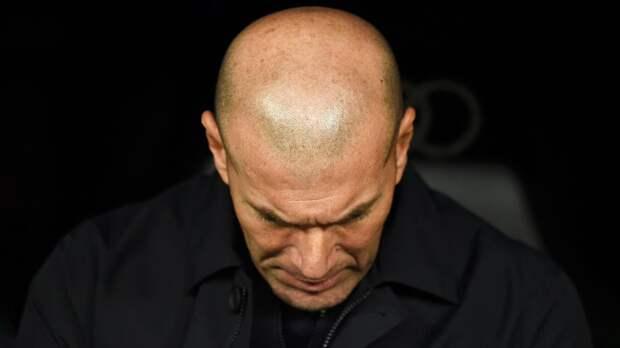 Источник: Зидан сообщил игрокам «Реала» о своем уходе по окончании сезона
