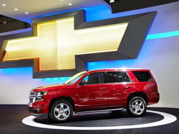 Chevrolet объявила цены на новый Tahoe