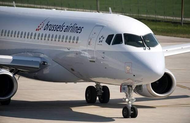 В парке Brussels Airlines появился первый Sukhoi Superjet 100