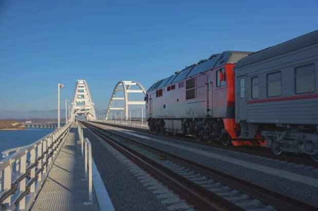 Отменен запуск поездов по новым направлениям между Крымом и материком