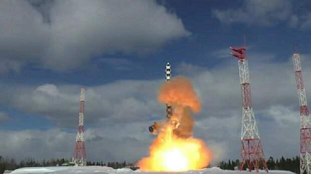 Российская ракета передала однозначное послание Байдену