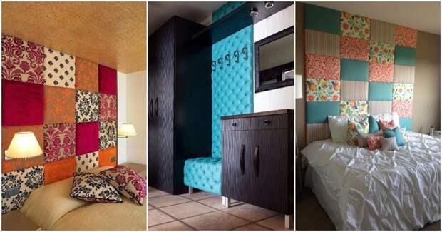 Мягкая отделка стен комнаты: уютное решение, отличный результат