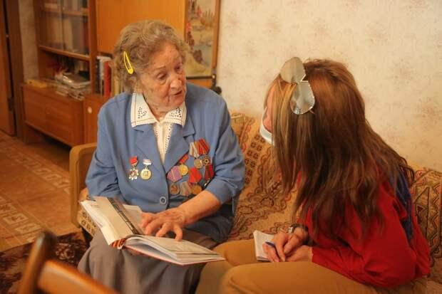 В СВАО поздравили всех ветеранов Великой Отечественной войны