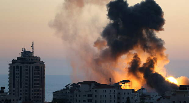 Израильские ВВС разбомбили подземный бункер ХАМАСа