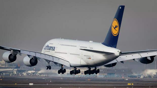 Россия согласовала для Lufthansa облёт Беларуси и получила ответное разрешение на полёты в Германию