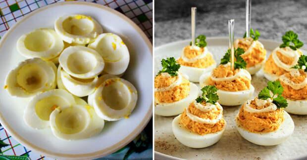За что я люблю Пасху, так это за фирменные фаршированные яйца, которые готовит теща