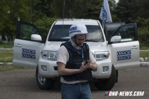"""В ОБСЕ уличили во лжи штаб """"АТО"""", сообщивший об обстреле базы наблюдателей в Попасной"""