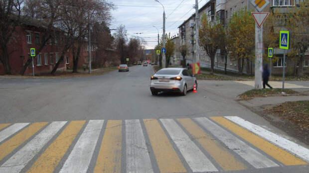 В Ижевске сбили ребенка, перебегавшего дорогу в неположенном месте