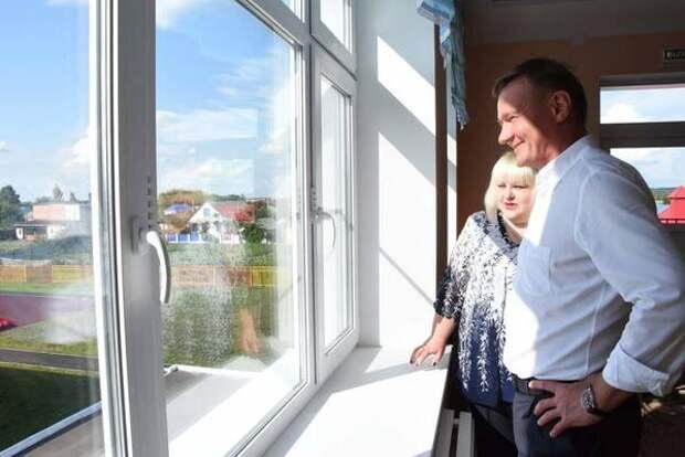 Курские селяне могут улучшить жилищные условия, получив господдержку