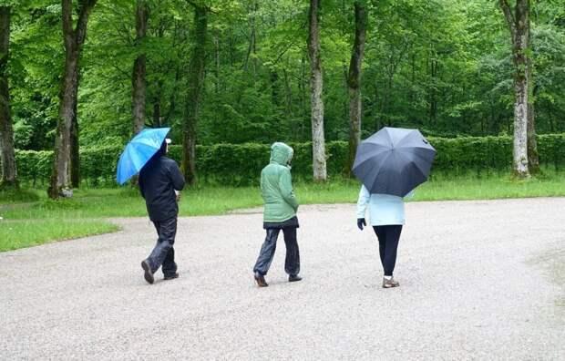 Четырёхдневный дождь обрушится на Москву