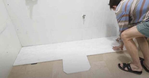 Как сделать мастерскую в туалете