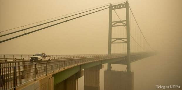 Лесные пожары в США: все западное побережье заволокло дымом, эвакуировали более полумиллиона человек (Фото и видео)) - ТЕЛЕГРАФ