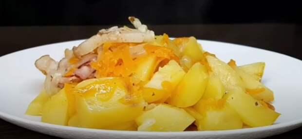 Картофель не жарю, не варю, а готовлю только так. Уникальный способ