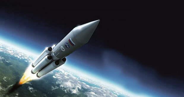 Роскосмос обнародовал характеристики сверхтяжелых ракет для полетов на Луну