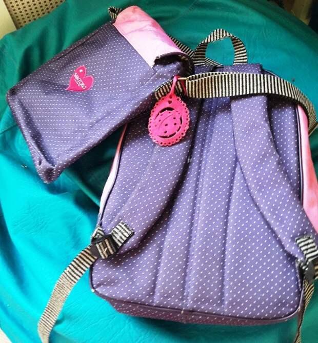 Рюкзак, сумка и кошелек Santoro London Gorjuss (обмен/продажа)