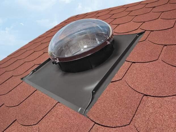 Световоды может подобрать и установить на крыше только специалист. / Фото: archiproducts.com