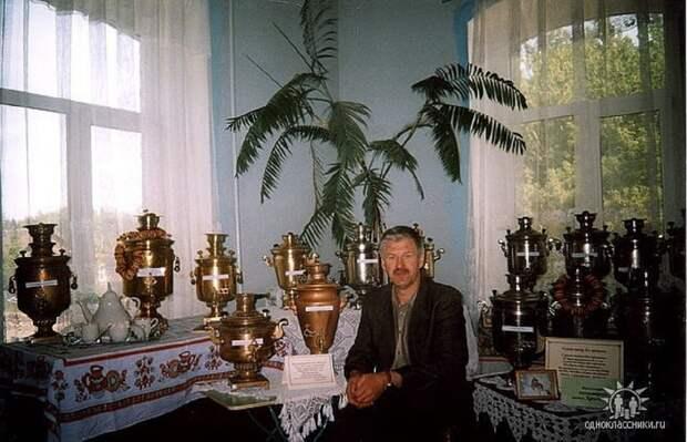 Спасённая старина: житель Воротынца 30 лет коллекционирует и реставрирует самовары