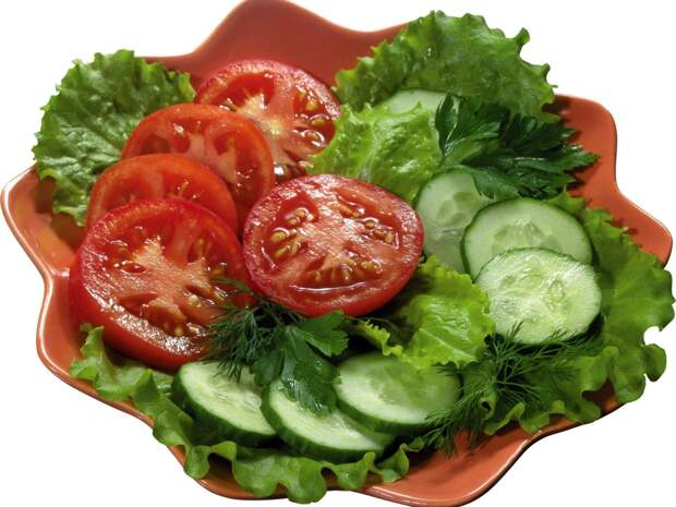 Неужели помидоры нельзя есть с огурцами?