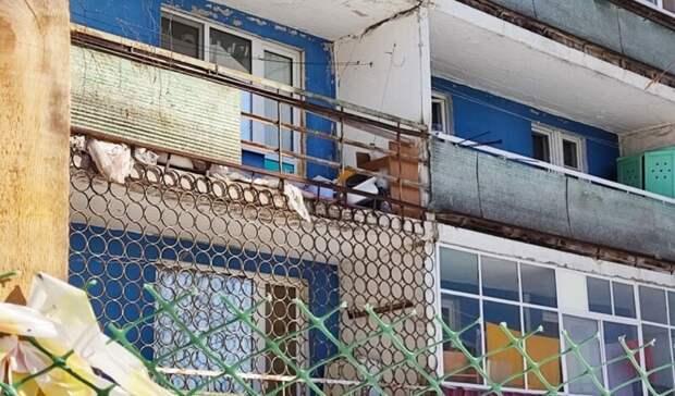Жители нижегородской Выксы пожаловались на аварийный дом
