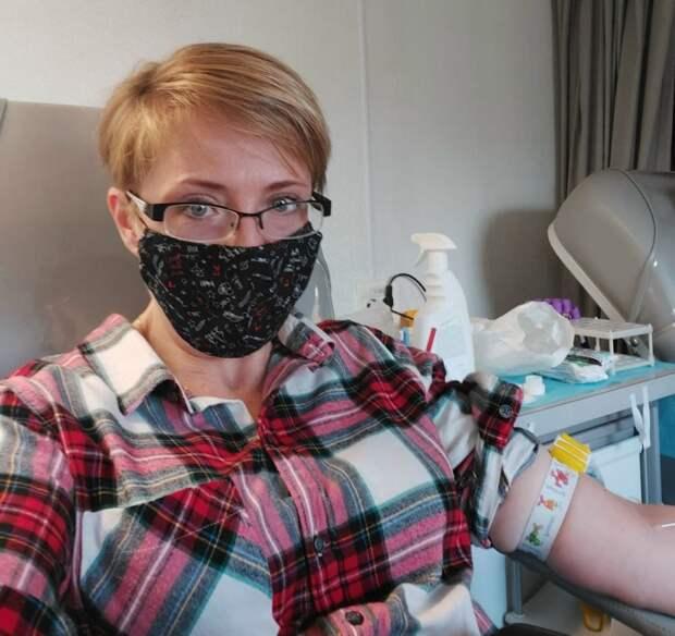 В ходе акции «Доноры – детям» в Марьине собрали 55 доз крови