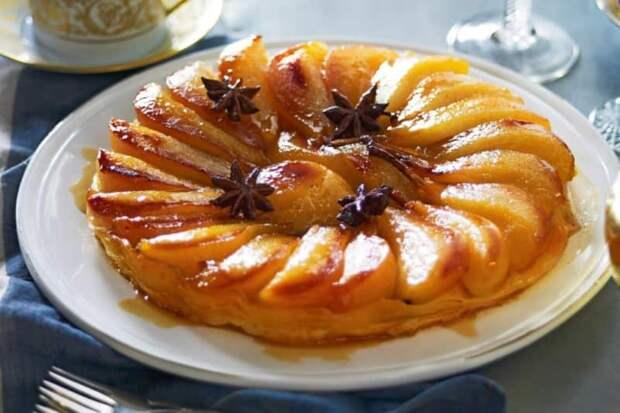 Яблочный пирог Татен. Нежное лакомство родом из Франции