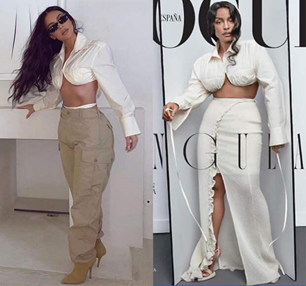Модная битва: Ким Кардашьян против Паломы Эльсессер
