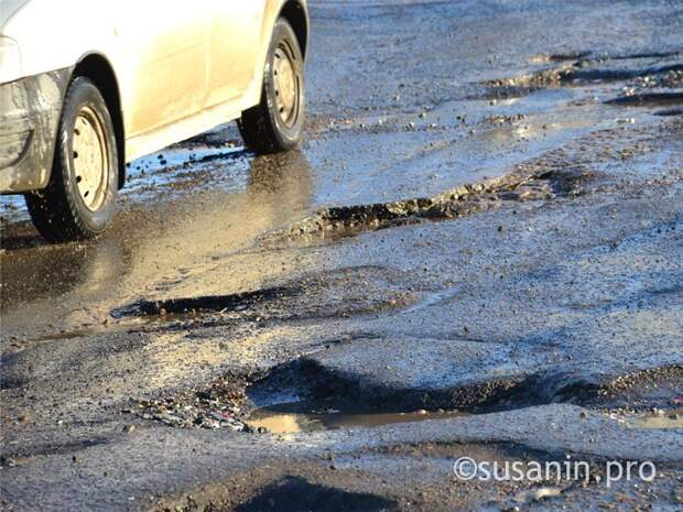 Больше 200 ДТП в Ижевске в 2020 году произошло из-за плохих дорог