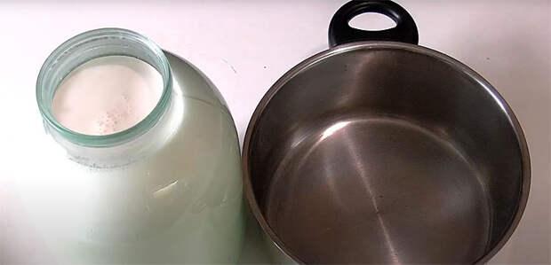 Варим сгущенку из 3 литров молока. За 2 часа получается полтора литра домашнего готового продукта