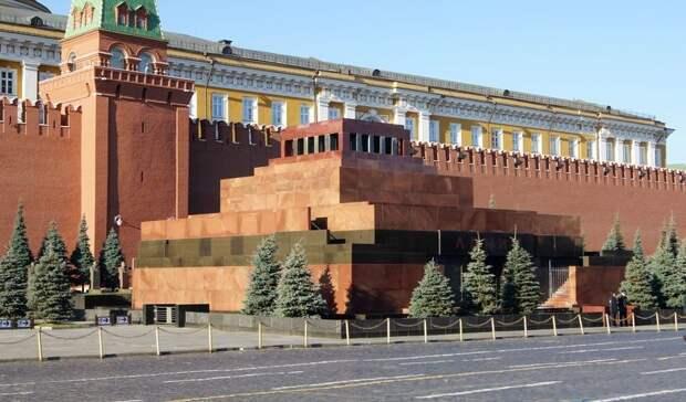 Американский художник предложил построить в США мавзолей и перевезти туда тело Ленина