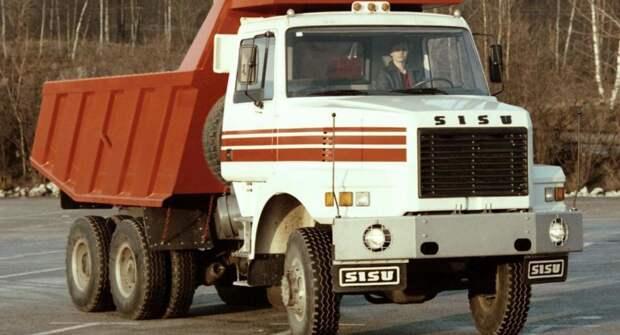 Финские грузовые автомобили Sisu в СССР