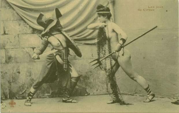 Женщины-гладиаторы в Древнем Риме