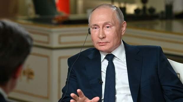 Путин четко отбрил журналиста NBC