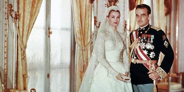 Грейс Келли с князем Монако Ренье III