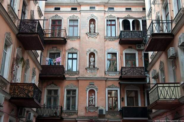 Прогулки по Одессе: парадные, не парадные и другое