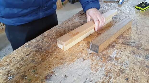 Как скрыть саморез в древесине