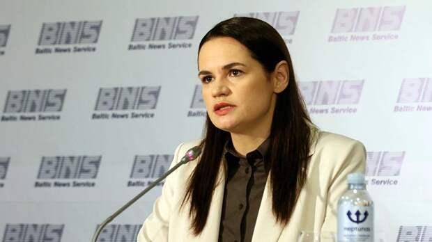 Тихановская допустила посредничество России в преодолении кризиса в Белоруссии
