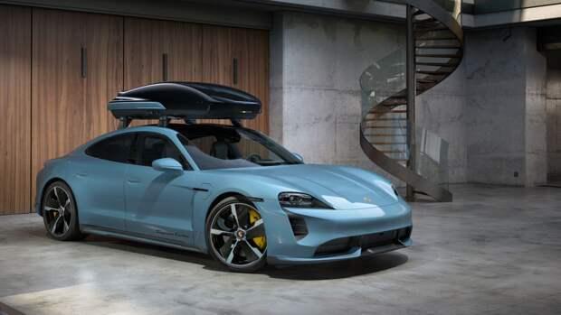 Porsche предложила специальный багажник для скоростной езды