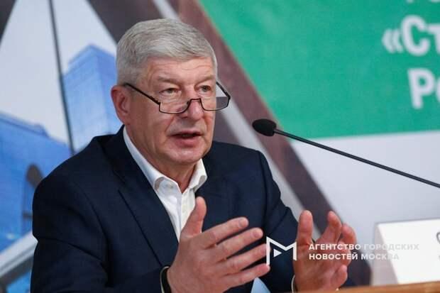 Сергей Левкин, руководитель департамента градостроительной политики Москвы. Фото: АГН «Москва»