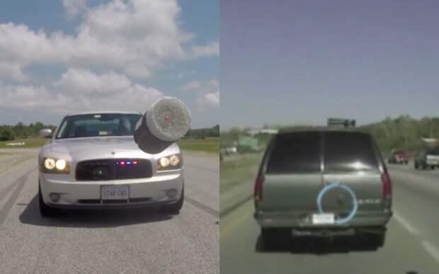 Дротики с GPS – новые технологии дорожной полиции