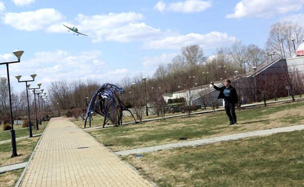 Самолет «Дон Кихот» потерялся в районе планетария Новосибирска