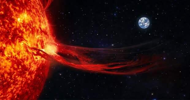 С 13 мая ожидается самая сильная магнитная буря 2021 года