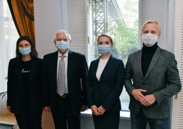 В Киев прилетел глава дипломатии ЕС Боррель